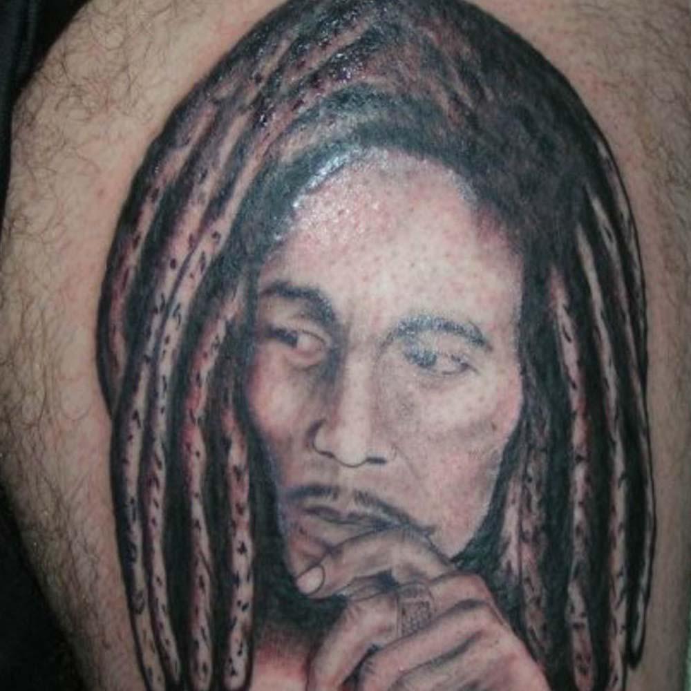 Mendoza Ink - Bob Marley