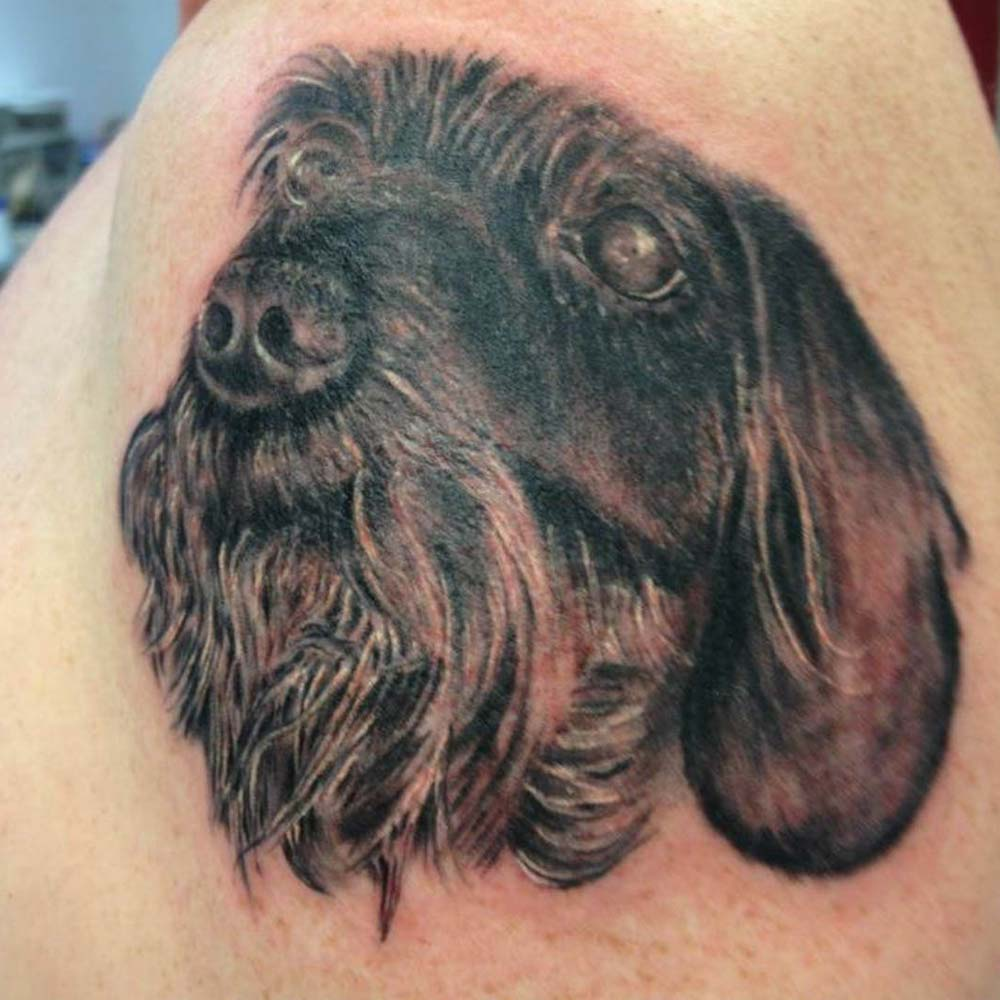 Mendoza Ink - Dog
