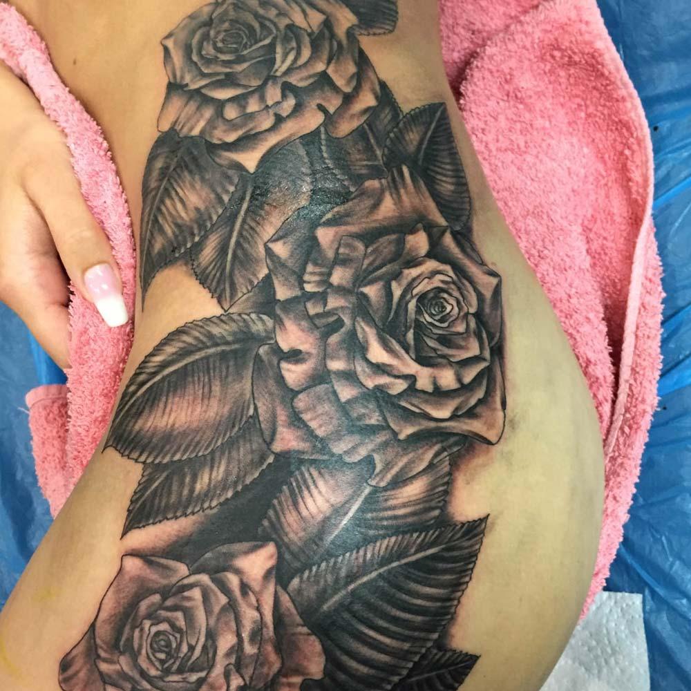 Mendoza Ink - Drei Rosen