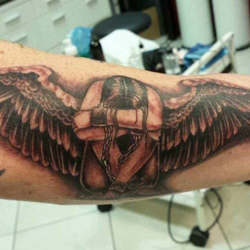 Mendoza Ink - Fallen Angel