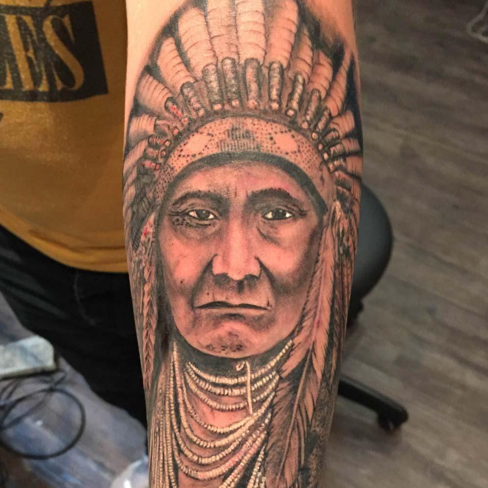 Mendoza Ink - Indian Chief