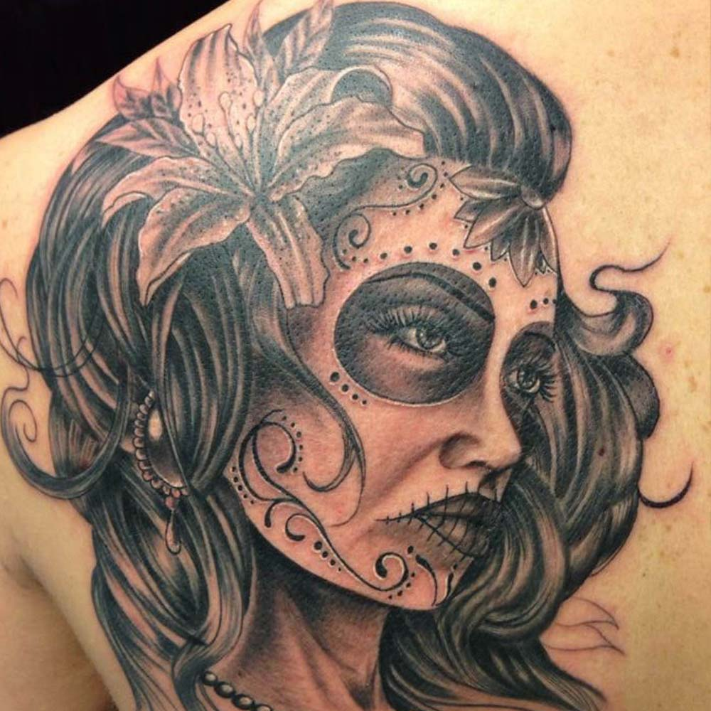 Mendoza Ink - Lady Doll 1