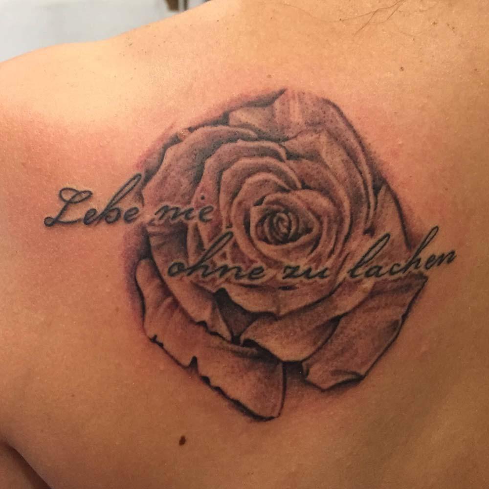 Mendoza Ink - Lebe nie ohne zu lachen