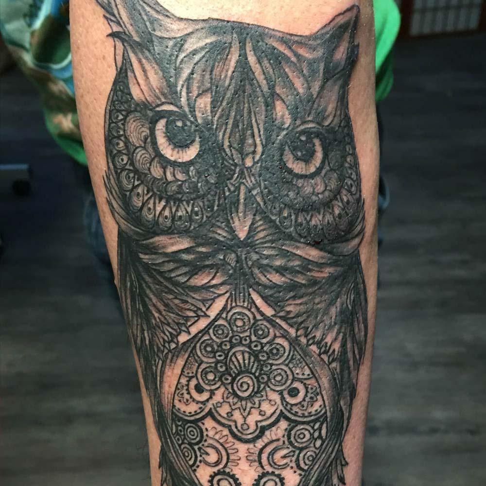 Mendoza Ink - Owl
