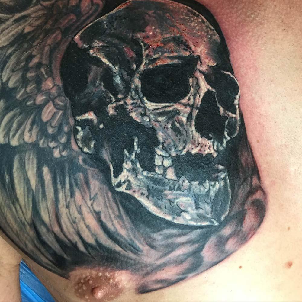 Mendoza Ink - Skull