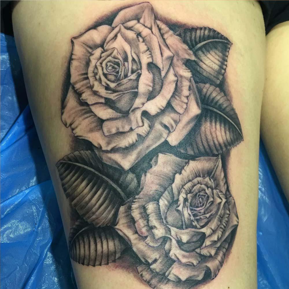 Mendoza Ink - Zwei Rosen
