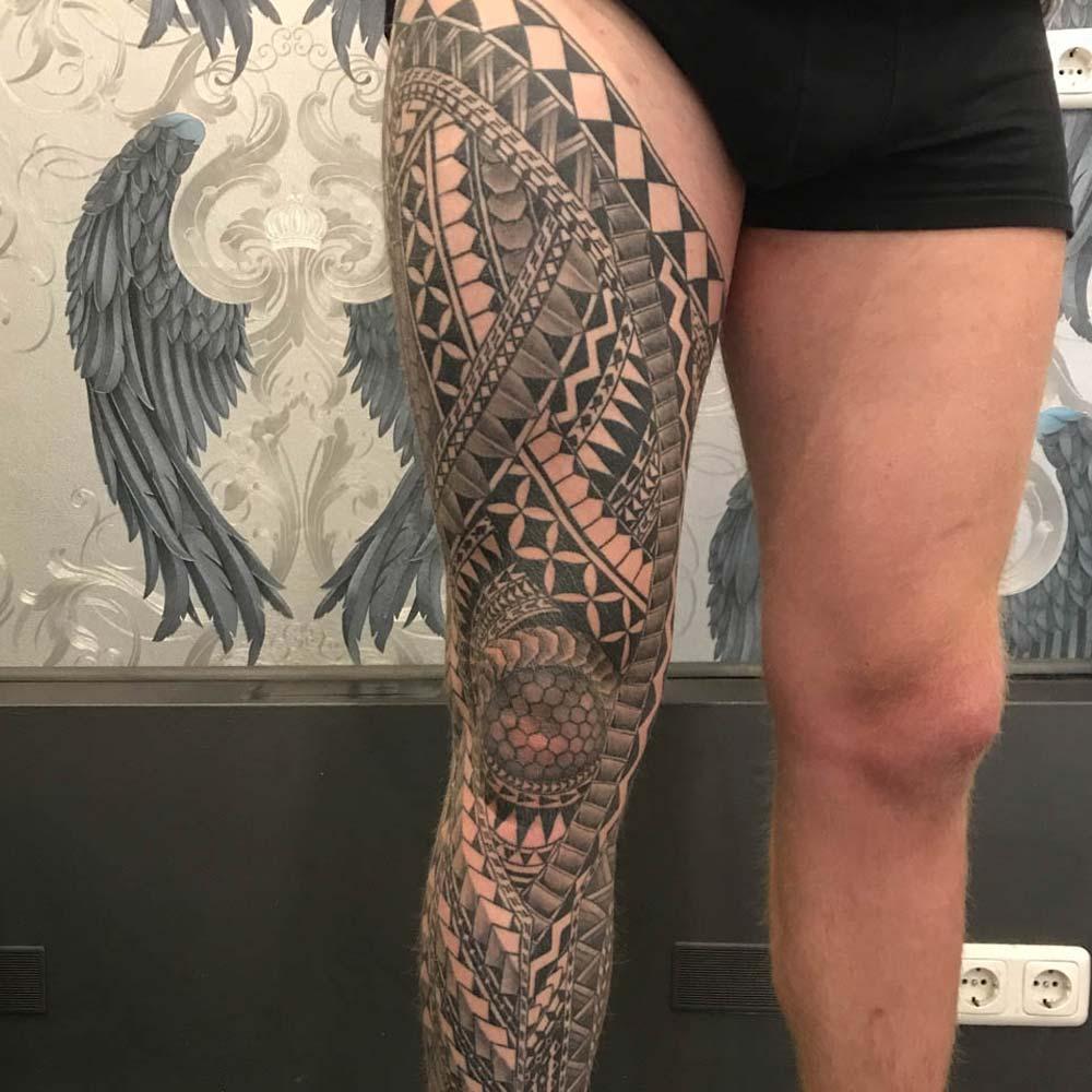 Mendoza Ink - Maori Tattoo