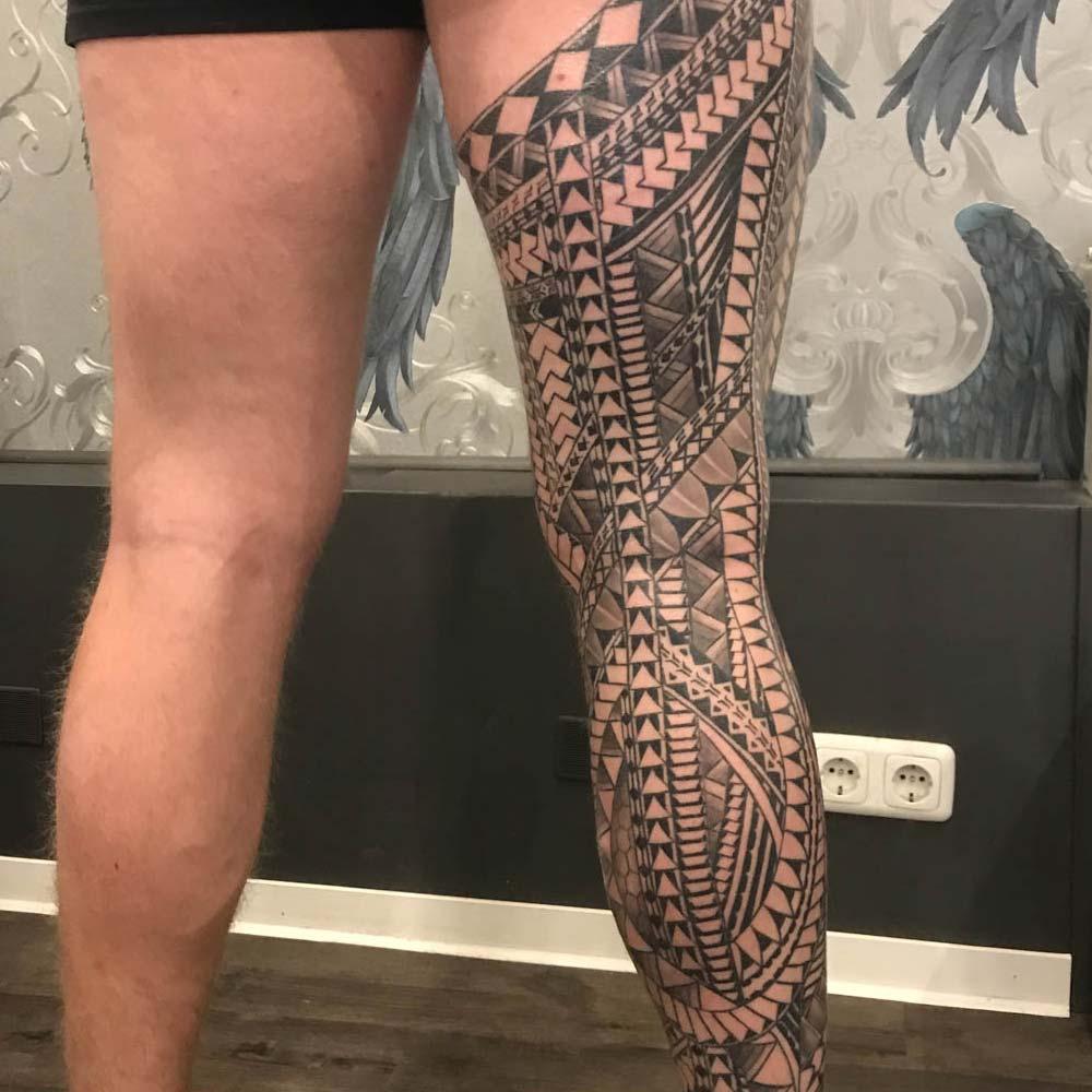 Mendoza Ink - Maori Tattoo 2