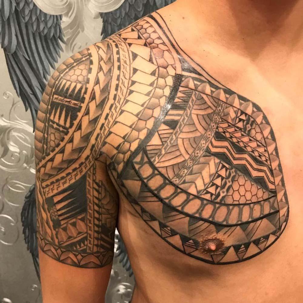 Mendoza Ink - Maori Tattoo 4