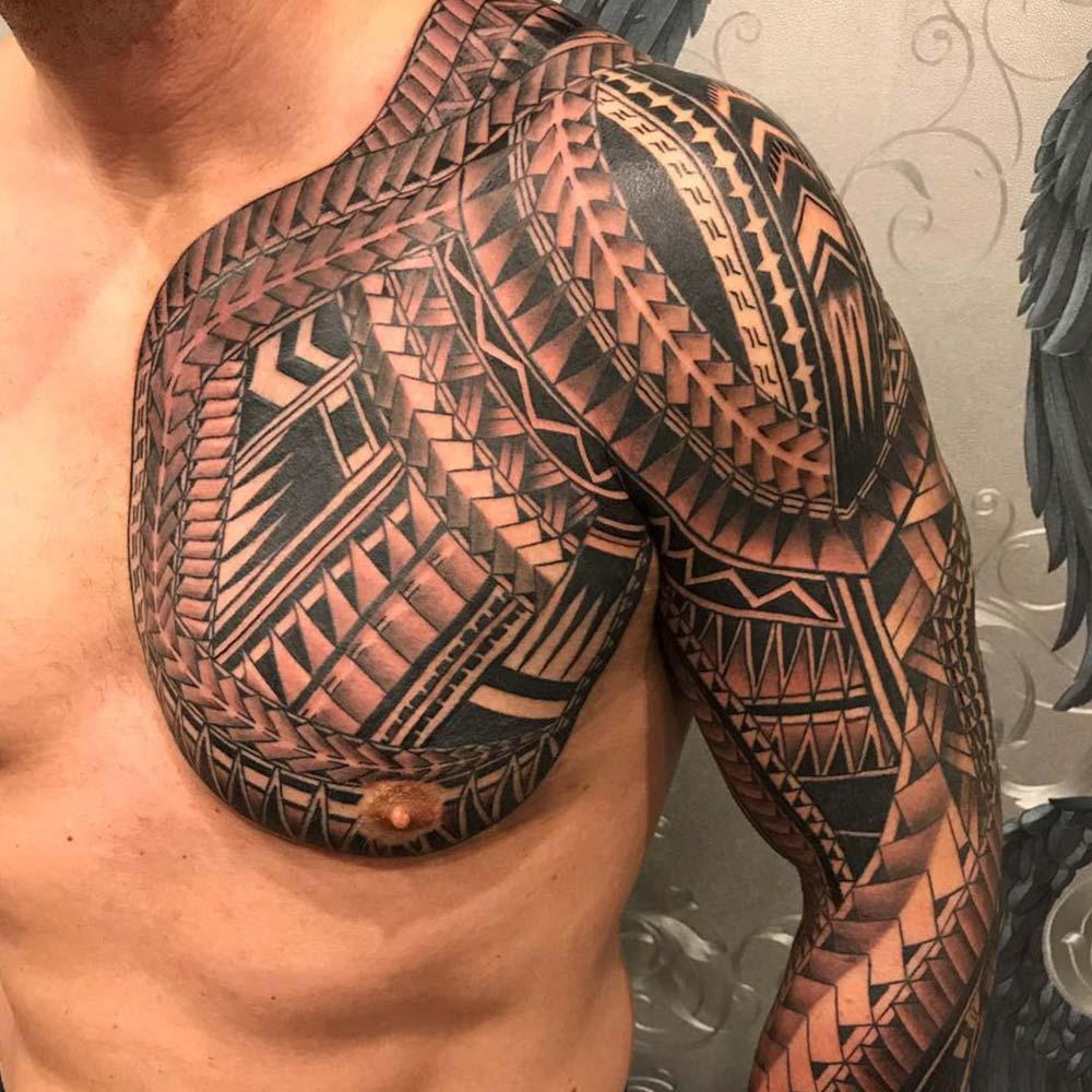 Mendoza Ink - Maori Tattoo 7