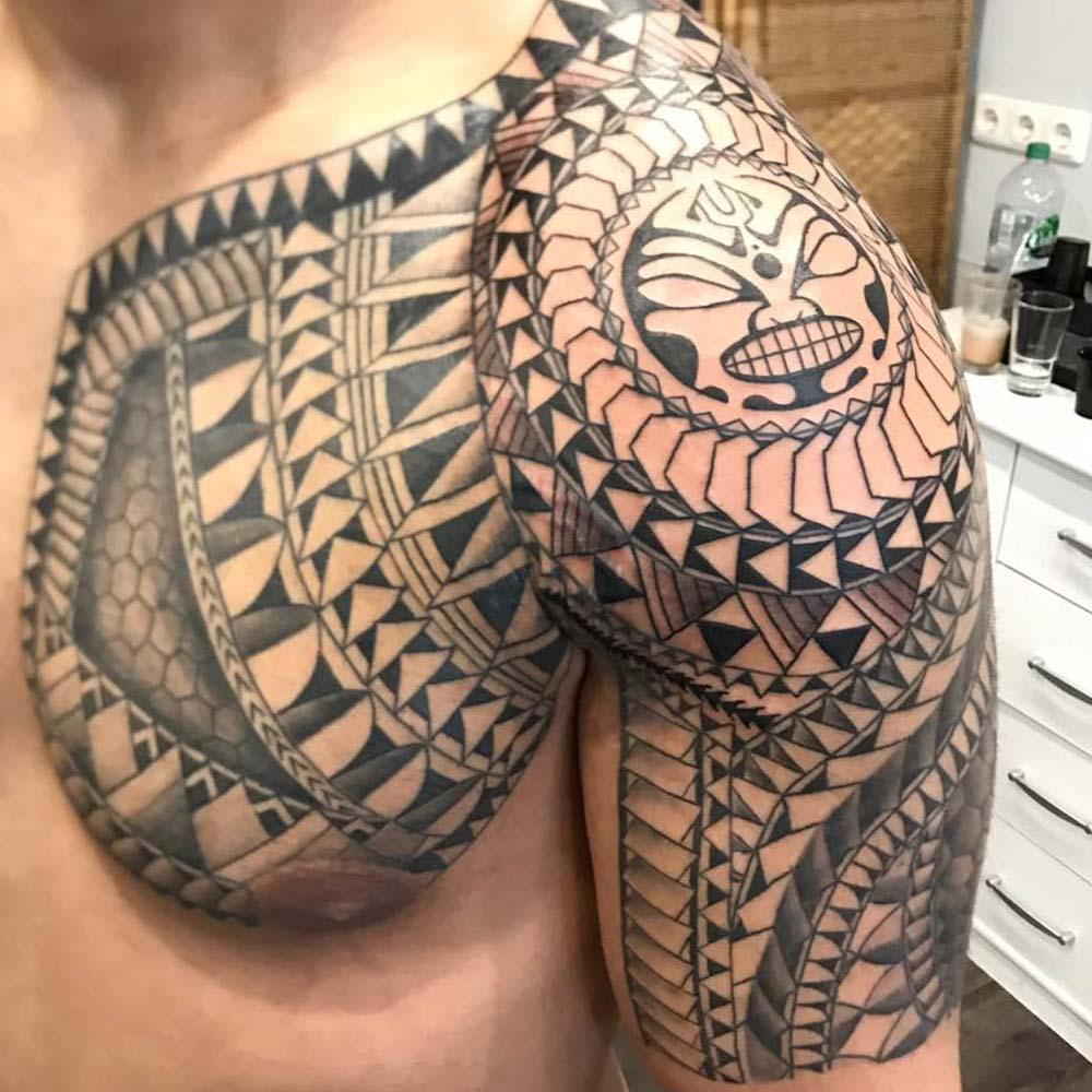 Mendoza Ink - Maori Tattoo 8